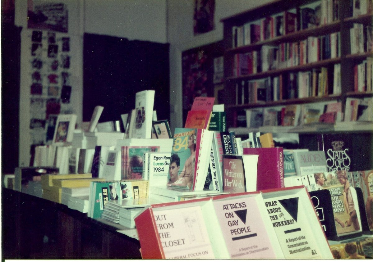 Programme for Between the Sheets: Radical print cultures before the queer bookshop