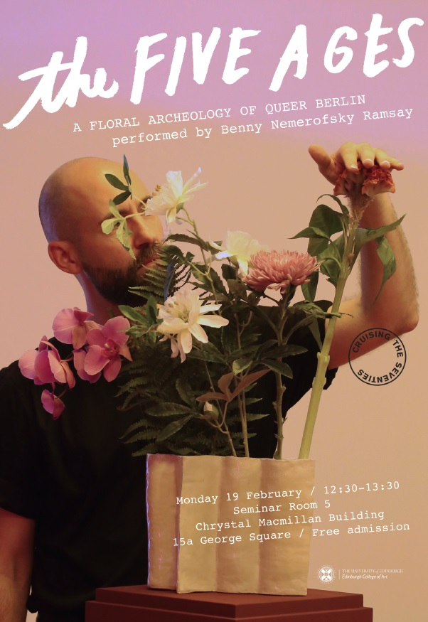 The Five Ages – A floral archaeology of queer Berlin
